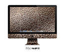 The Vibrant Cheetah Animal Print V3 Skin for the Apple iMac 27 Inch Desktop Computer for the iMac