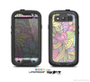 The Vibrant Color Floral Pattern Skin For The Samsung Galaxy S3 LifeProof Case