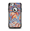 The Vibrant Color Oil Swirls Apple iPhone 6 Otterbox Commuter Case Skin Set