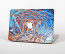 "The Vibrant Color Oil Swirls Skin Set for the Apple MacBook Pro 15"" with Retina Display"