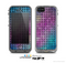 The Vibrant Colored Abstract Cells Skin for the Apple iPhone 5c LifeProof Case