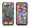 The Vibrant Colored Abstract Cubes Apple iPhone 6 LifeProof Fre Case Skin Set