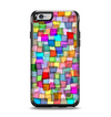 The Vibrant Colored Abstract Cubes Apple iPhone 6 Otterbox Symmetry Case Skin Set
