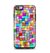The Vibrant Colored Abstract Cubes Apple iPhone 6 Plus Otterbox Symmetry Case Skin Set