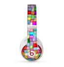 The Vibrant Colored Abstract Cubes Skin for the Beats by Dre Studio (2013+ Version) Headphones