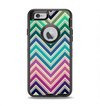 The Vibrant Colored Chevron Layered V4 Apple iPhone 6 Otterbox Defender Case Skin Set