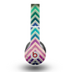 The Vibrant Colored Chevron Layered V4 Skin for the Beats by Dre Original Solo-Solo HD Headphones