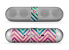 The Vibrant Colored Chevron Layered V4 Skin for the Beats by Dre Pill Bluetooth Speaker