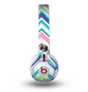 The Vibrant Colored Chevron Pattern V3 Skin for the Beats by Dre Mixr Headphones