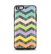 The Vibrant Colored Chevron With Digital Camo Background Apple iPhone 6 Plus Otterbox Symmetry Case Skin Set