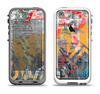 The Vibrant Colored Graffiti Mixture Apple iPhone 5-5s LifeProof Fre Case Skin Set