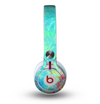 The Vibrant Colored Messy Painted Canvas Skin for the Beats by Dre Mixr Headphones
