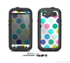 The Vibrant Colored Polka Dot V1 Skin For The Samsung Galaxy S3 LifeProof Case