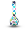 The Vibrant Colored Polka Dot V1 Skin for the Beats by Dre Mixr Headphones