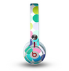 The Vibrant Colored Polka Dot V2 Skin for the Beats by Dre Mixr Headphones