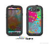 The Vibrant Colored Sprouting Shapes Skin For The Samsung Galaxy S3 LifeProof Case