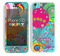 The Vibrant Colored Sprouting Shapes Skin for the Apple iPhone 5c