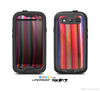 The Vibrant Colored Striped Fabric Skin For The Samsung Galaxy S3 LifeProof Case
