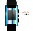 The Vibrant Colored Stripes Pattern V3 Skin for the Pebble SmartWatch