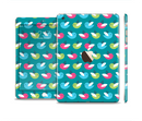 The Vibrant Colored Vector Bird Collage Full Body Skin Set for the Apple iPad Mini 3