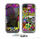 The Vibrant Colored Vector Graffiti Skin for the Apple iPhone 5c LifeProof Case
