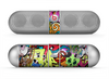 The Vibrant Colored Vector Graffiti Skin for the Beats by Dre Pill Bluetooth Speaker