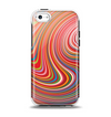 The Vibrant Colorful Swirls Apple iPhone 5c Otterbox Symmetry Case Skin Set