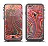 The Vibrant Colorful Swirls Apple iPhone 6 LifeProof Fre Case Skin Set