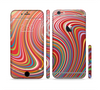 The Vibrant Colorful Swirls Sectioned Skin Series for the Apple iPhone 6 Plus