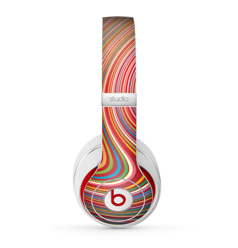 The Vibrant Colorful Swirls Skin for the Beats by Dre Studio (2013+ Version) Headphones