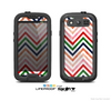 The Vibrant Fall Colored Chevron Pattern Skin For The Samsung Galaxy S3 LifeProof Case