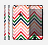 The Vibrant Fall Colored Chevron Pattern Skin for the Apple iPhone 6