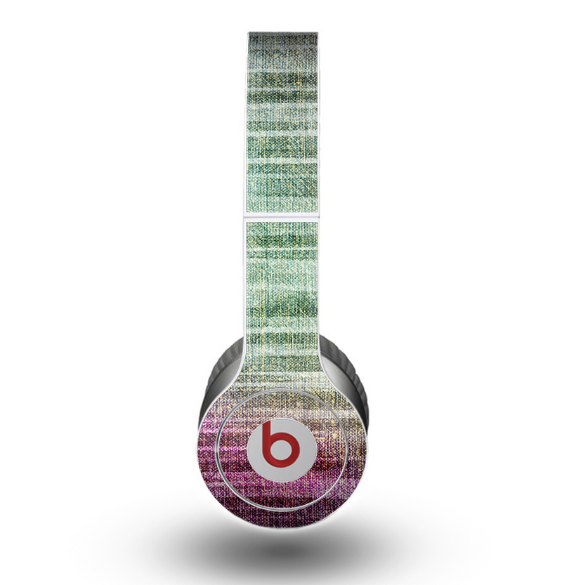The Vibrant Fold Colored Fabric Skin for the Beats by Dre Original Solo-Solo HD Headphones