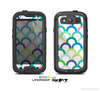 The Vibrant Fun Colored Pattern Hoops Skin For The Samsung Galaxy S3 LifeProof Case