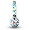 The Vibrant Fun Colored Pattern Hoops Skin for the Beats by Dre Mixr Headphones
