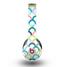 The Vibrant Fun Colored Pattern Hoops Skin for the Beats by Dre Original Solo-Solo HD Headphones