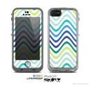 The Vibrant Fun Colored Pattern Swirls Skin for the Apple iPhone 5c LifeProof Case
