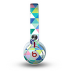 The Vibrant Fun Colored Triangular Pattern Skin for the Beats by Dre Mixr Headphones