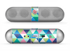 The Vibrant Fun Colored Triangular Pattern Skin for the Beats by Dre Pill Bluetooth Speaker