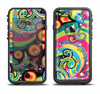 The Vibrant Fun Sprouting Shapes Apple iPhone 6 LifeProof Fre Case Skin Set