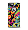 The Vibrant Fun Sprouting Shapes Apple iPhone 6 Otterbox Defender Case Skin Set