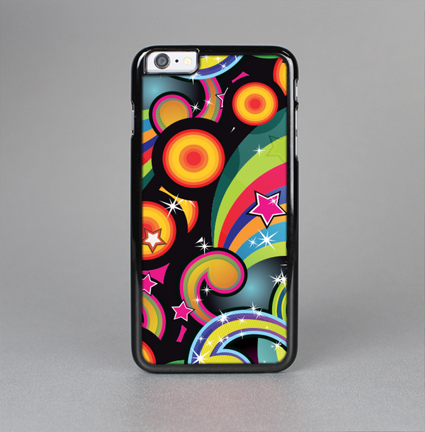 The Vibrant Fun Sprouting Shapes Skin-Sert Case for the Apple iPhone 6 Plus
