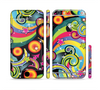 The Vibrant Fun Sprouting Shapes Sectioned Skin Series for the Apple iPhone 6 Plus