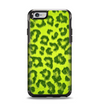 The Vibrant Green Cheetah Apple iPhone 6 Otterbox Symmetry Case Skin Set
