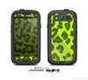 The Vibrant Green Cheetah Skin For The Samsung Galaxy S3 LifeProof Case
