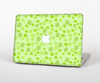The Vibrant Green Paw Prints Skin Set for the Apple MacBook Air 13""