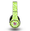 The Vibrant Green Paw Prints Skin for the Original Beats by Dre Studio Headphones