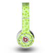 The Vibrant Green Paw Prints Skin for the Original Beats by Dre Wireless Headphones