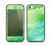 The Vibrant Green Watercolor Panel Skin Set for the iPhone 5-5s Skech Glow Case