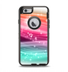 The Vibrant Multicolored Abstract Swirls Apple iPhone 6 Otterbox Defender Case Skin Set